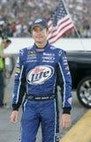 Champion de Kurt Busch NASCAR photo stock