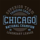 Champion de ressortissant de Chicago Photos stock