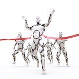 Champion de robot Images libres de droits