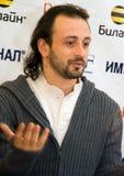 Champion du monde dans la figure patinage Ilya Averbuh Photographie stock