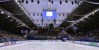 Champion 2012 du monde de patinage artistique d'ISU Photos stock