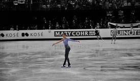 Champion du monde de patinage artistique d'ISU Caroline 2012 Photographie stock libre de droits