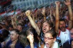 Champion du monde du football de l'Italie dans 09 july2006 Image libre de droits