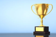 Champion Gold Cup Trophy Royalty Free Stock Photography