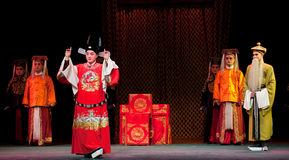 Champion-Jiangxi opera� Breeze Pavilion Stock Photo