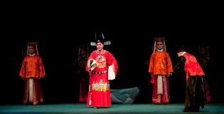 Champion-Jiangxi opera: Breeze Pavilion Royalty Free Stock Photos