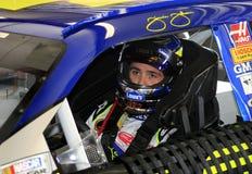 Champion Jimmie Johnson de NASCAR images stock