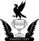 Champion logo design Royalty Free Stock Image