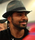 Champion lourd de boxe du monde de David Haye- Photos stock