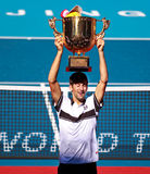 Champion men's singles, 2010 China Open Stock Photography