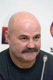 Champion olympique Ianovski, boxeur Rogozina d'entraîneur Photo libre de droits