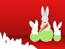 Champion. Rabbits. Royalty Free Stock Photos