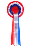 Champion rosette isolated Stock Photos