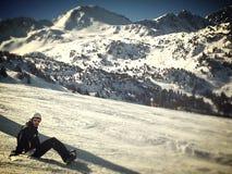 Champion's break. Andorra with love stock photo