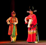 Champion secret-Jiangxi opera: Breeze Pavilion Royalty Free Stock Photos