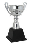 Champion silver trophy isolated With clipping path Royalty Free Stock Image