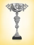 Champion silver trophy Royalty Free Stock Photography