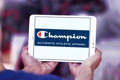 Champion sportswear company logo Stock Images