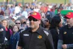 Champion Tony Stewart de voiture de sprint de NASCAR photo stock