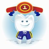 Champion tooth Royalty Free Stock Photos