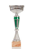 Champion trophy on a white background Stock Photography