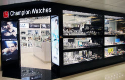 Champion Watches shop in hong kong Stock Photos