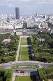 Championde beschädigt Park Paris Frankreich Lizenzfreies Stockbild