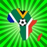 Championnat 2010 du football illustration stock