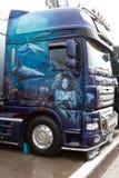 Championnat 2012 de emballage de camion européen de la FIA Images libres de droits