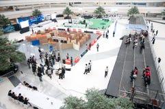 Championnat 2012 de robot de la Thaïlande Image libre de droits