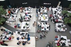 Championnat 2012 de robot de la Thaïlande Photo stock