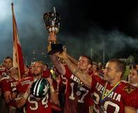 Championnat B-Européen 2009 de football américain Image libre de droits