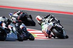 Championnat 1000 - course du monde de super-stock de FIM Photographie stock