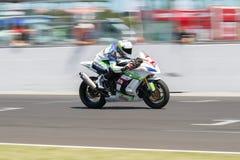 Championnat 1000 - course du monde de super-stock de FIM Photos stock