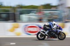 Championnat 1000 - course du monde de super-stock de FIM Photo stock