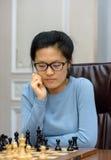 Championnat d'échecs du monde des femmes Lviv 2016 Photos stock