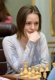 Championnat d'échecs du monde des femmes Lviv 2016 Images libres de droits