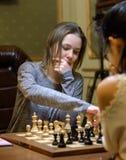 Championnat d'échecs du monde des femmes Lviv 2016 Image stock