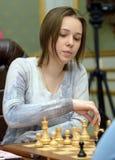 Championnat d'échecs du monde des femmes Lviv 2016 Photographie stock