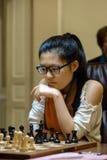 Championnat d'échecs du monde des femmes Lviv 2016 Photographie stock libre de droits