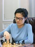 Championnat d'échecs du monde des femmes Lviv 2016 Photo libre de droits