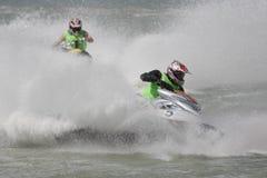 Championnat d'Aquabike. Photographie stock libre de droits