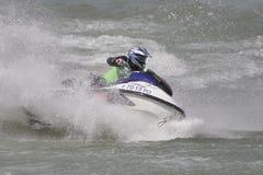 Championnat d'Aquabike. Photo libre de droits