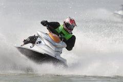 Championnat d'Aquabike. Image stock