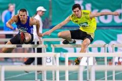 Championnat d'intérieur 2011 d'athlétisme Image stock