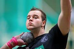 Championnat d'intérieur 2011 d'athlétisme Photographie stock