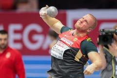 Championnat d'intérieur européen 2013 d'athlétisme image stock