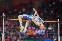 Championnat d'intérieur européen 2013 d'athlétisme Photos stock