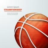 Championnat de basket-ball Image libre de droits