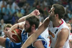 Championnat de basket-ball du monde Photos libres de droits